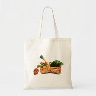 grönsaker, tygkasse