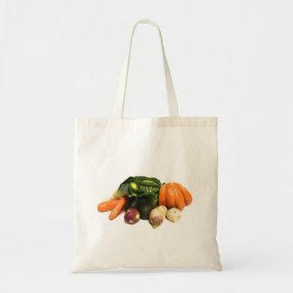 Grönsaker Tygkasse