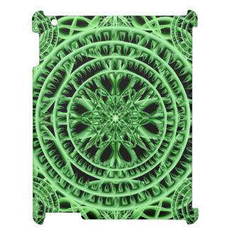 Grönskande Mandala iPad Mobil Fodral