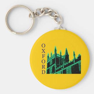 Grönt 1986 för Oxford England byggnadspiraler Nyckel Ringar