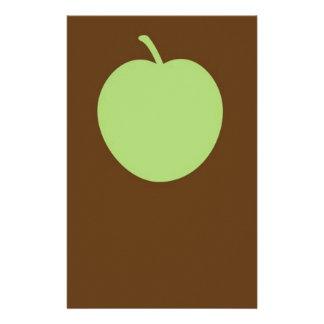 Grönt äpple brevpapper