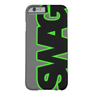 Grönt BYLTE för neon Barely There iPhone 6 Skal