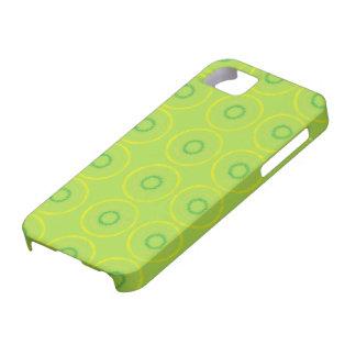 Grönt cirklar iPhone 5 Case-Mate fodraler