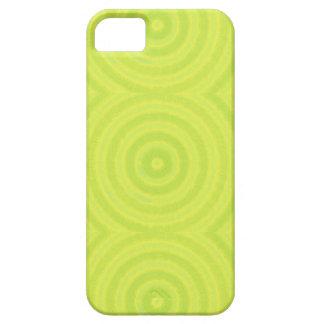 Grönt cirklar iPhone 5 cover
