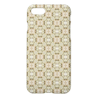 Grönt dekorativt mönster för chic iPhone 7 skal