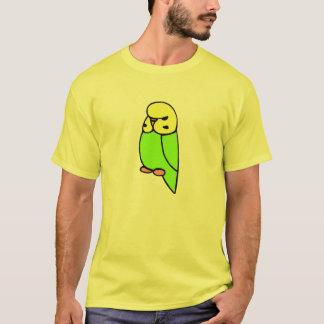 Grönt engelska Budgie T Shirts
