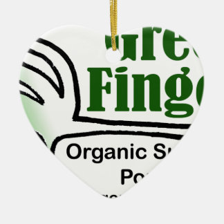 Grönt fingrar Groovy produkter Julgransprydnad Keramik