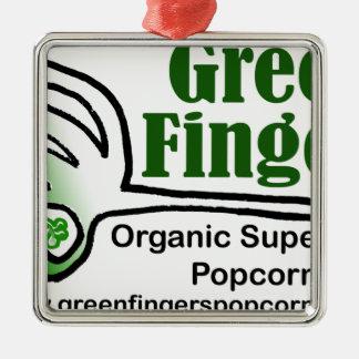 Grönt fingrar Groovy produkter Julgransprydnad Metall