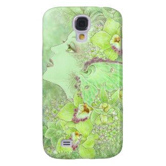 Grönt fodral för feiPhone 3G/3GS Galaxy S4 Fodral