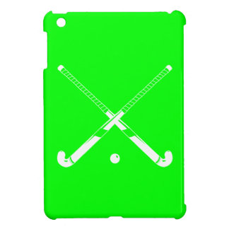 Grönt fodral för landhockeyiPadkortkort iPad Mini Skal