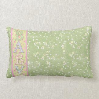 Grönt för babyLumbardekorativ kudde
