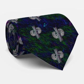Grönt för blått för design för NephrologistTie Slips