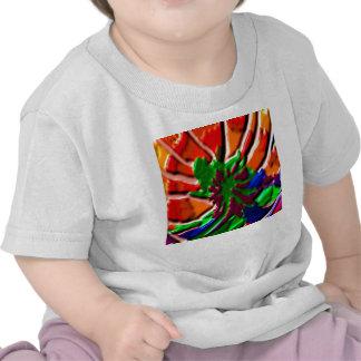grönt för blomma för grönt för vildKAKTUSkaktus T Shirt