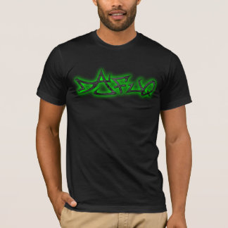 Grönt för Dafuq gataförfattare Tee Shirts