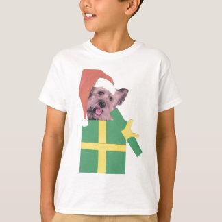 Grönt för den Skye terrieren boxas T-shirt