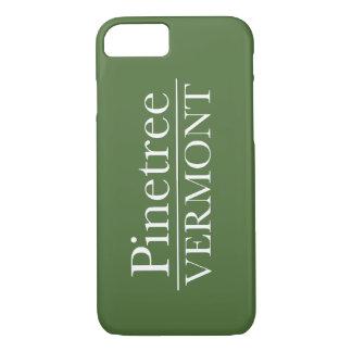 grönt för iPhone 7 knappt där - tallen Vermont -