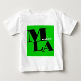 Grönt för Musica LAlogo Tee Shirts