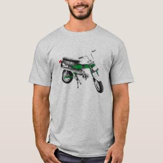 Grönt för slinga 70 för cykel för vintage70-tal tee shirts