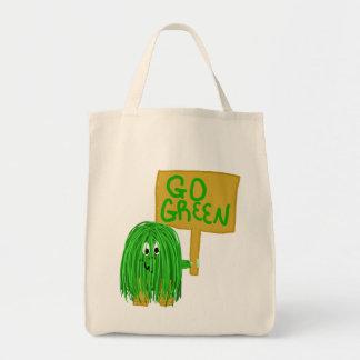grönt går grönt tote bag