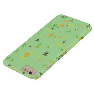 Grönt konstverktelefonfodral barely there iPhone 6 plus skal