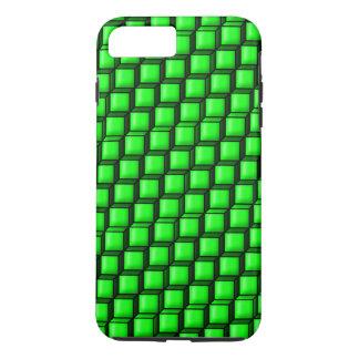 Grönt kvadrerar det tuffa plusfodral för iPhone 7
