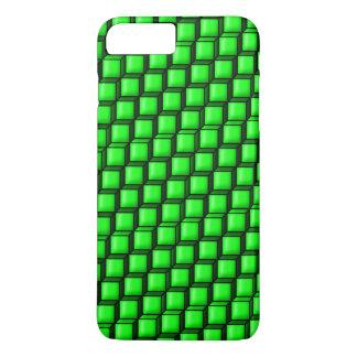 Grönt kvadrerar knappt där plusfodral för iPhone 7