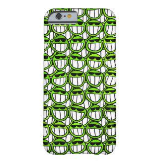 Grönt leenderoligtfodral barely there iPhone 6 skal