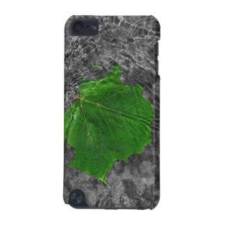Grönt löv i vattenipod fodral iPod touch 5G fodral