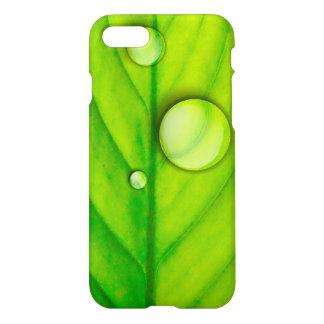 Grönt lövfodral iPhone 7 skal