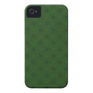 Grönt mönsterblackberry boldfodral iPhone 4 fodraler