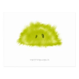 Grönt nötkreatur för limefrukt vykort