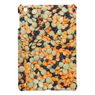 Grönt-, orange- och svartlin iPad mini fodral
