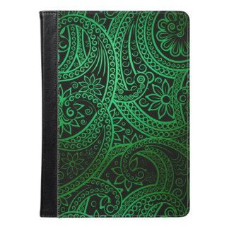 Grönt Paisley för elegant mönster