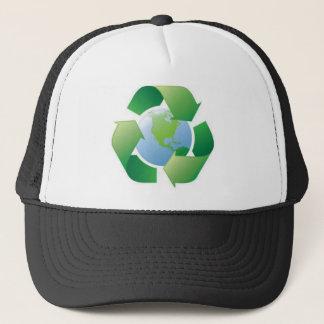 grönt planet keps