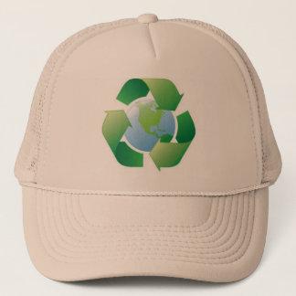 grönt planet truckerkeps