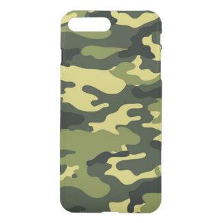 Grönt positivt deflektorfodral för kamouflage iPhone 7 plus skal