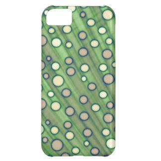 Grönt pricker iPhone 5C fodral