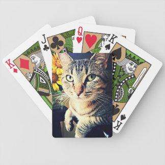 """Grönt """"solros """", spelkort"""