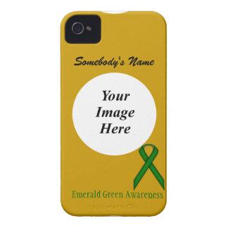 Grönt standart band för smaragd av Kenneth Yoncich iPhone 4 Skydd