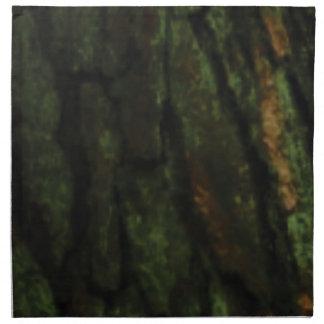 grönt trädskäll tygservett