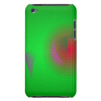 Grönt universum och en röd sol iPod touch fodraler