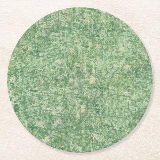 Gröntar som textureras av Shirley Taylor Underlägg Papper Rund