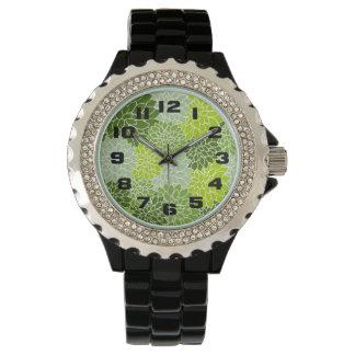 Gröntblommor Armbandsur
