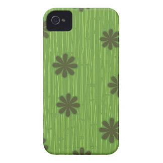 Gröntblommor iPhone 4 Fodraler