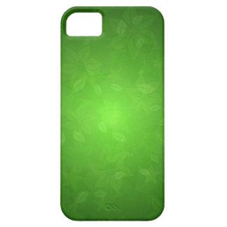 Gröntblommor iPhone 5 Case-Mate Fodraler