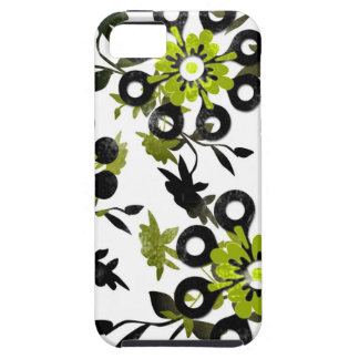 Gröntblommor iPhone 5 Case-Mate Skydd