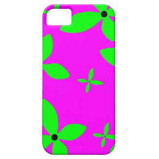 Gröntblommor iPhone 5 Fodral