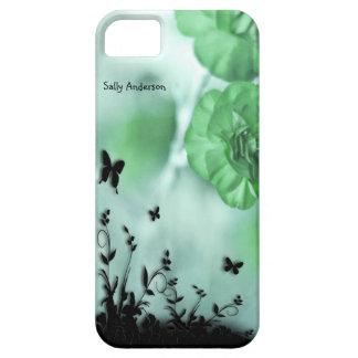 Gröntblommor iPhone 5 Skal