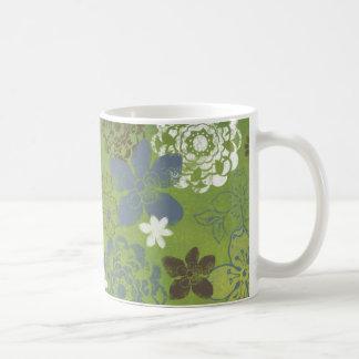 Gröntblommor Kaffemugg