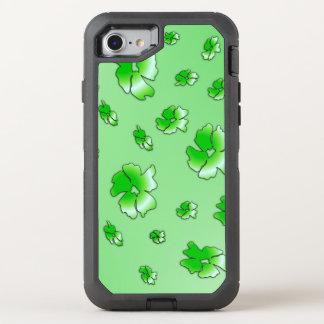Gröntblommor OtterBox Defender iPhone 7 Skal